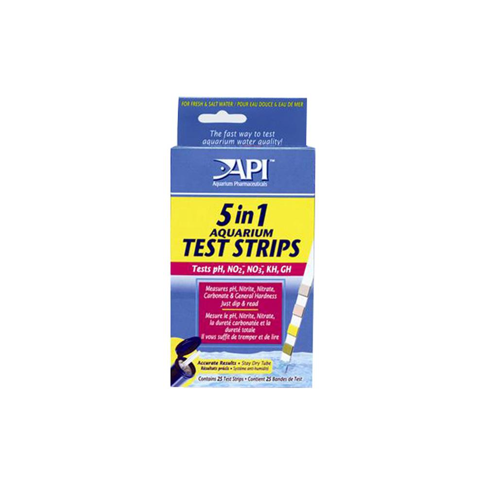 API 5 in 1 Test Strips