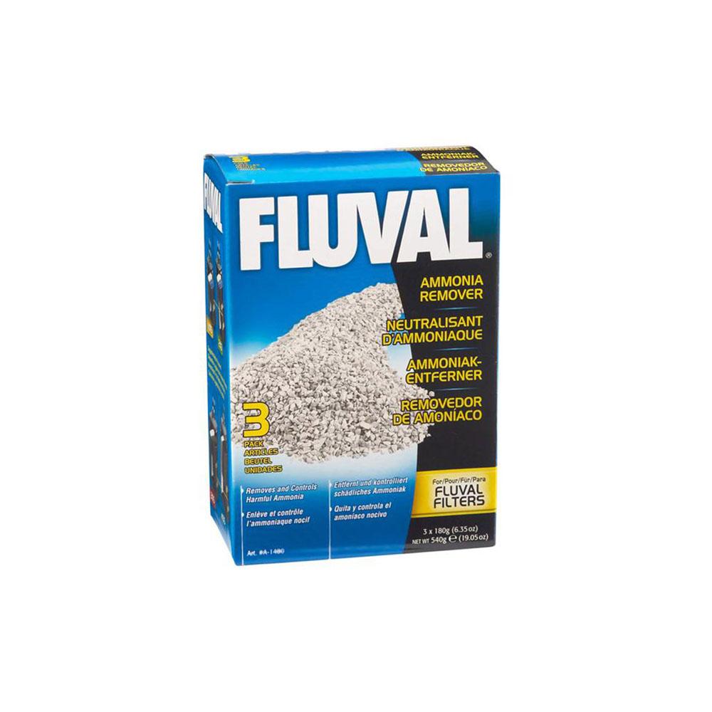 FLUVAL Ammonia Remover 3 x 180 Gram Pouches