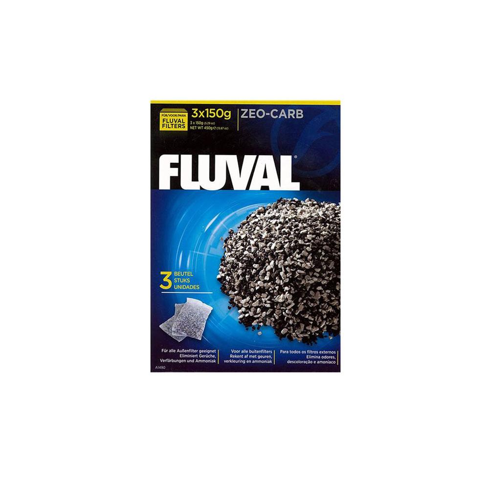 FLUVAL Zeo Carb pouches 3 x 150 Gram