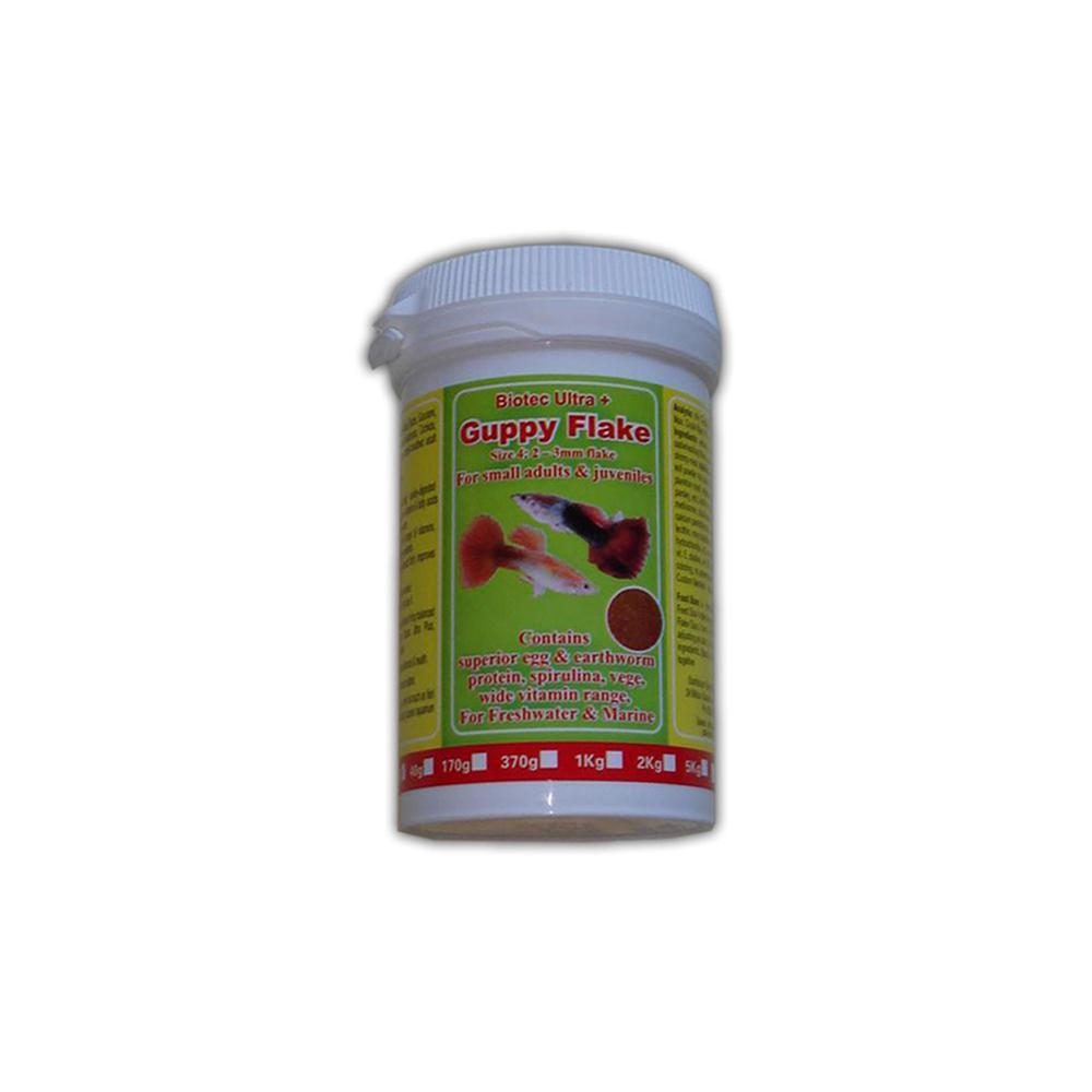 Guppy Flake Biotec Size 4