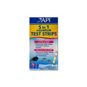 API 5 in 1 Test Strips 4