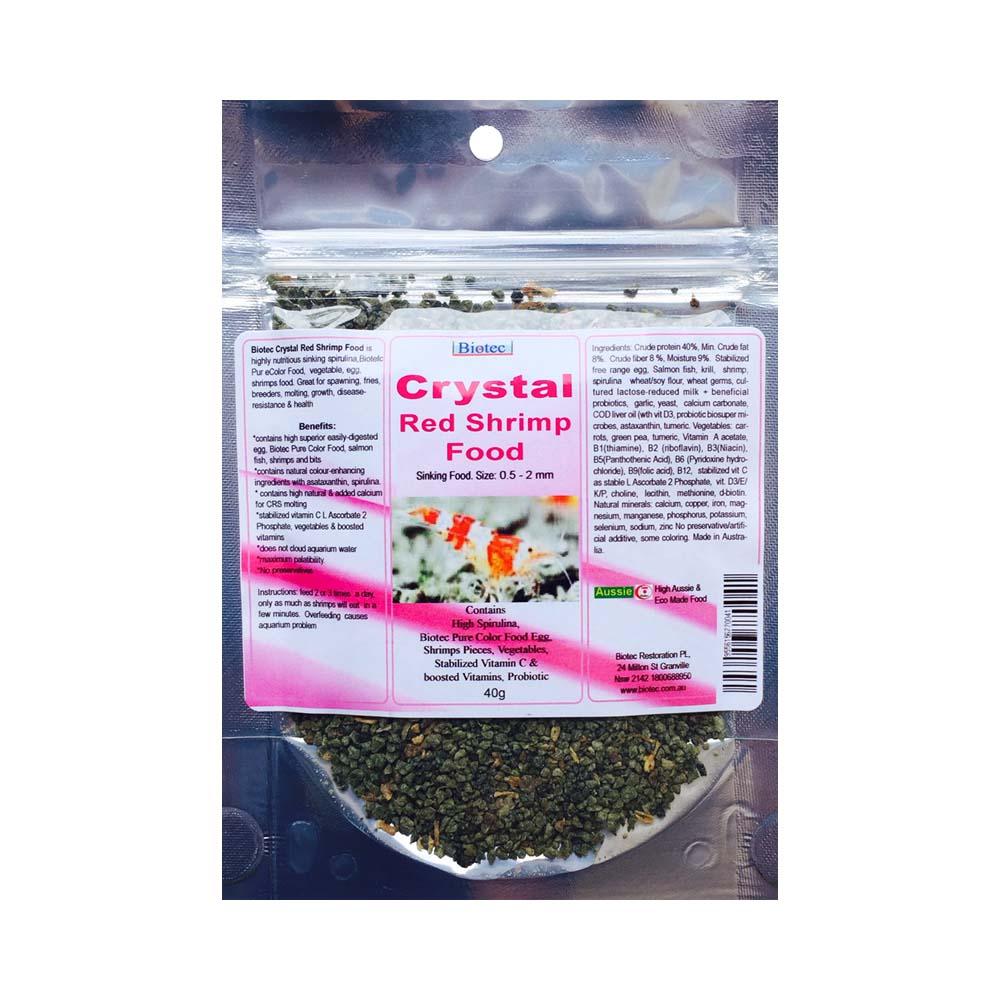 Biotec Crystal Red Shrimp Food 40g