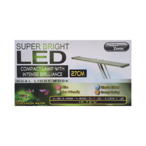 Aqua Zonic Super Bright LED 27cm Silver