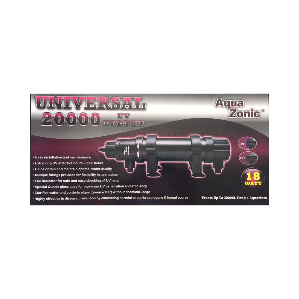 AquaZonic Universal 20000 UV FIlter