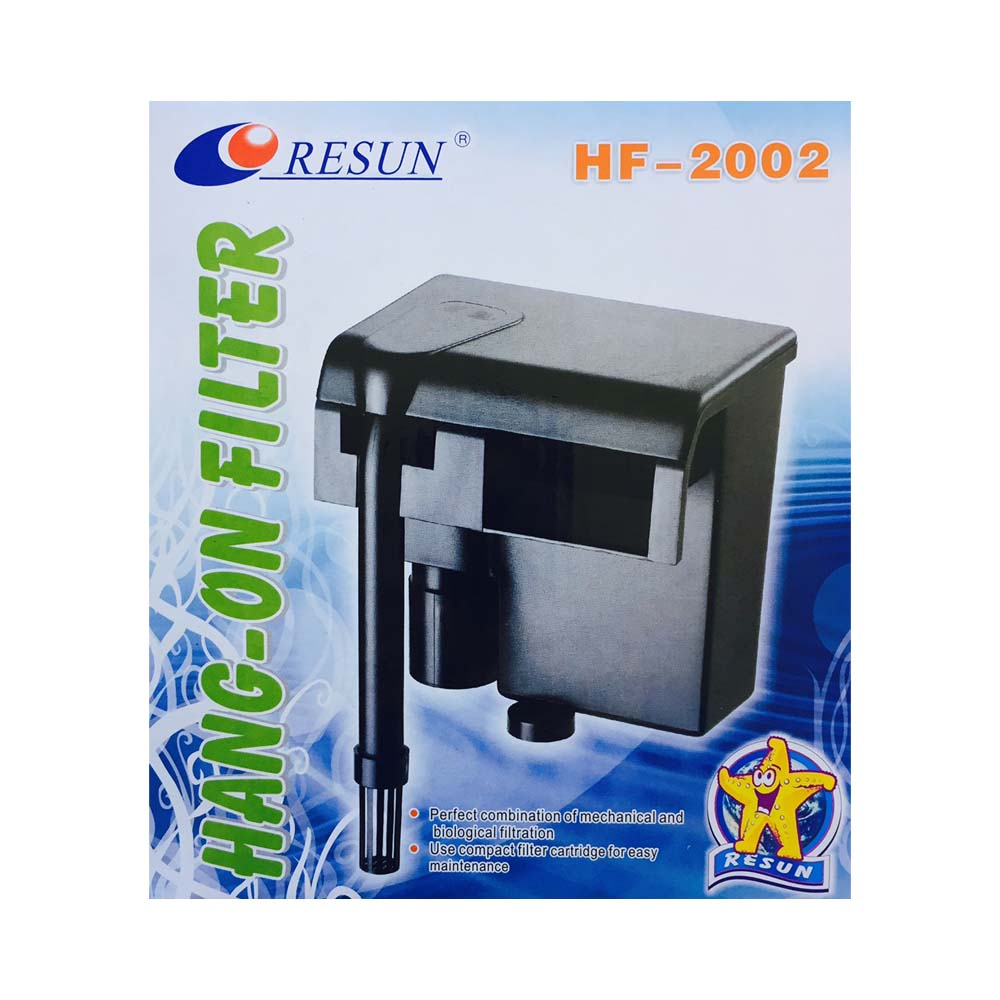 RESUN HF2002 Hang On Back Filter
