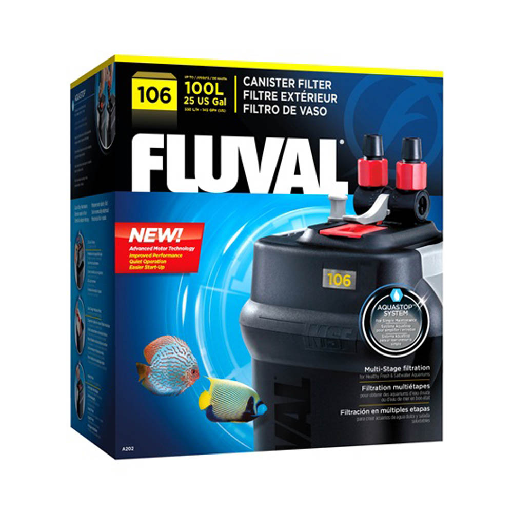 FLUVAL 106 Canister Filter
