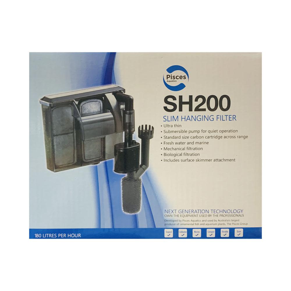 PISCES LABORATORIES SH200 Slim Hanging Filter