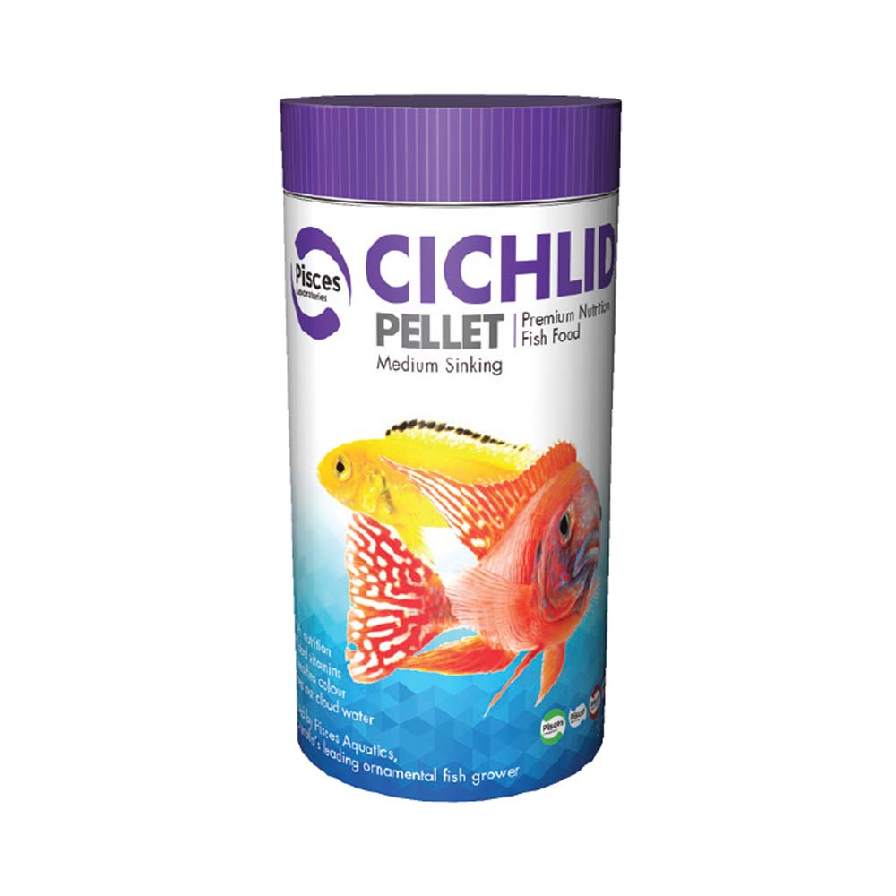 Pisces Cichlid Pellet Medium