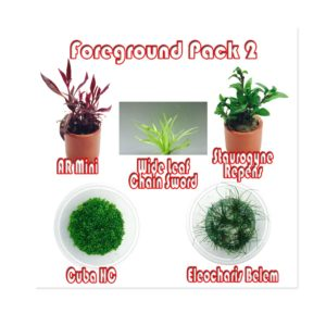 Foreground Plant Pack 2