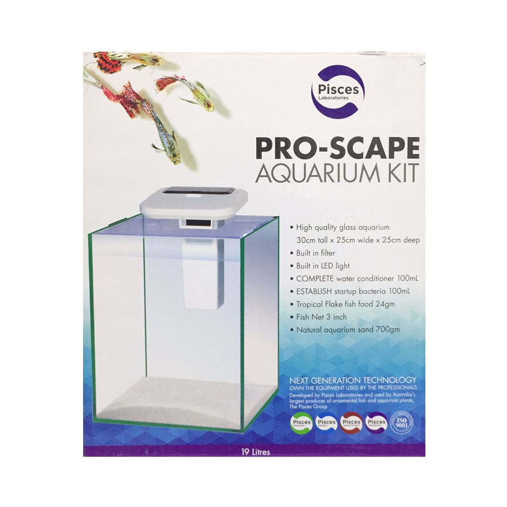 PISCES LABORATORIES Pro-Scape Aquarium Kit