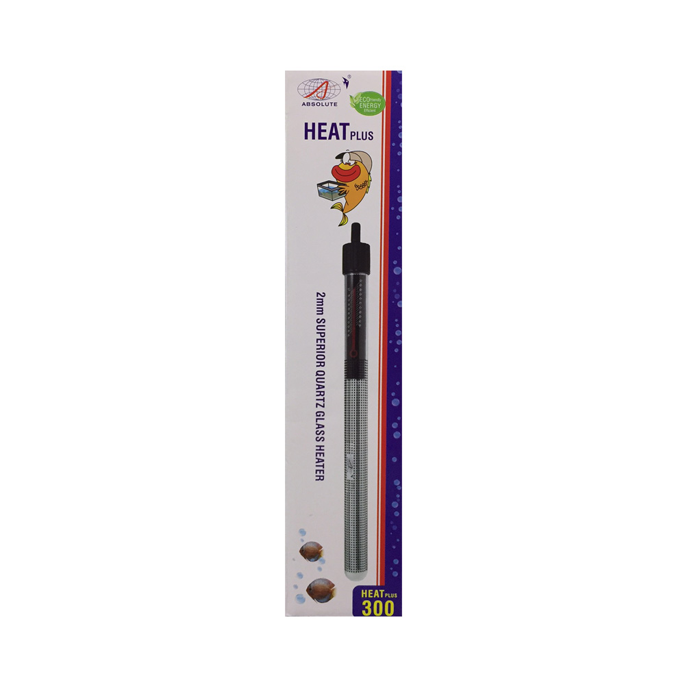 ABSOLUTE Heat Plus Submersible Aquarium Heater 300w