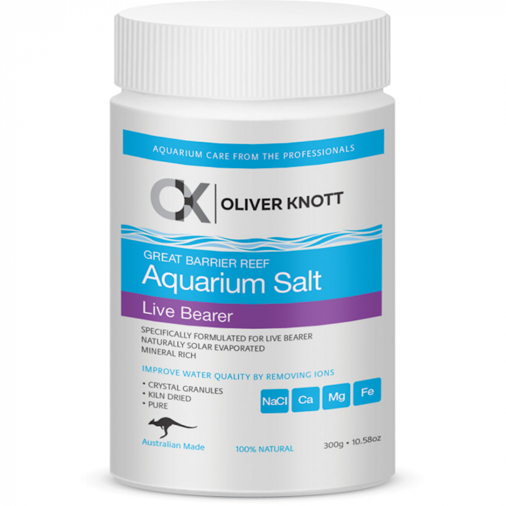 OLIVER KNOTT Aquarium Salt Live Bearer 300g